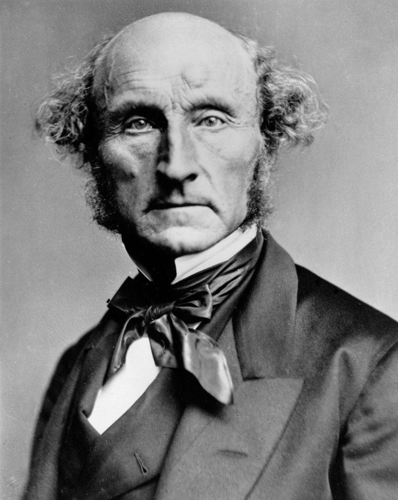 John Stuart Mill By London Stereoscopic Company C1870