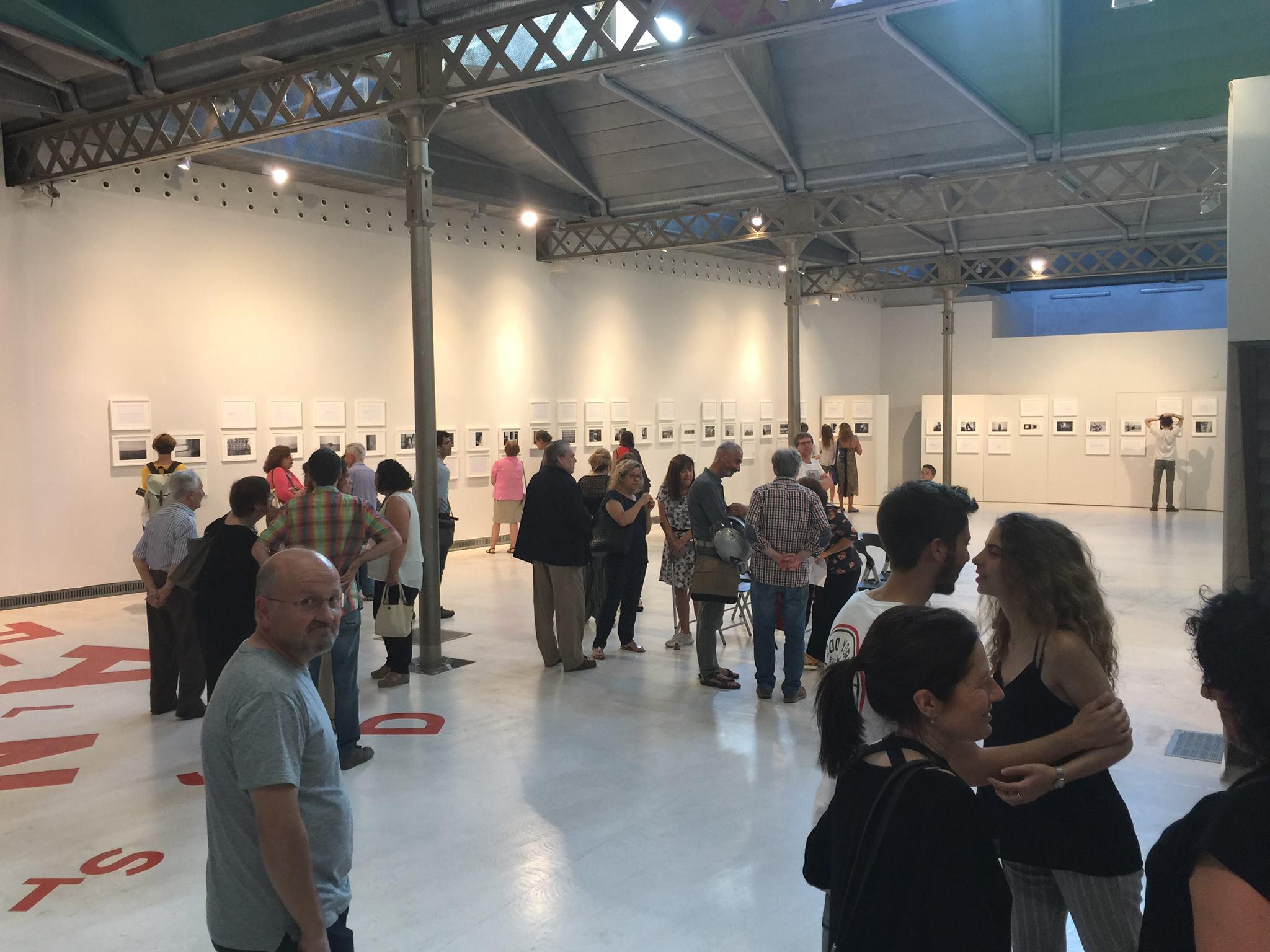 BERTA VALLRIBERA EXPOSA A L'ESPAI BETÚLIA